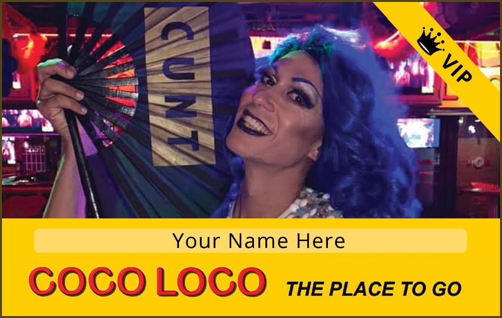 Coco Loco Cards