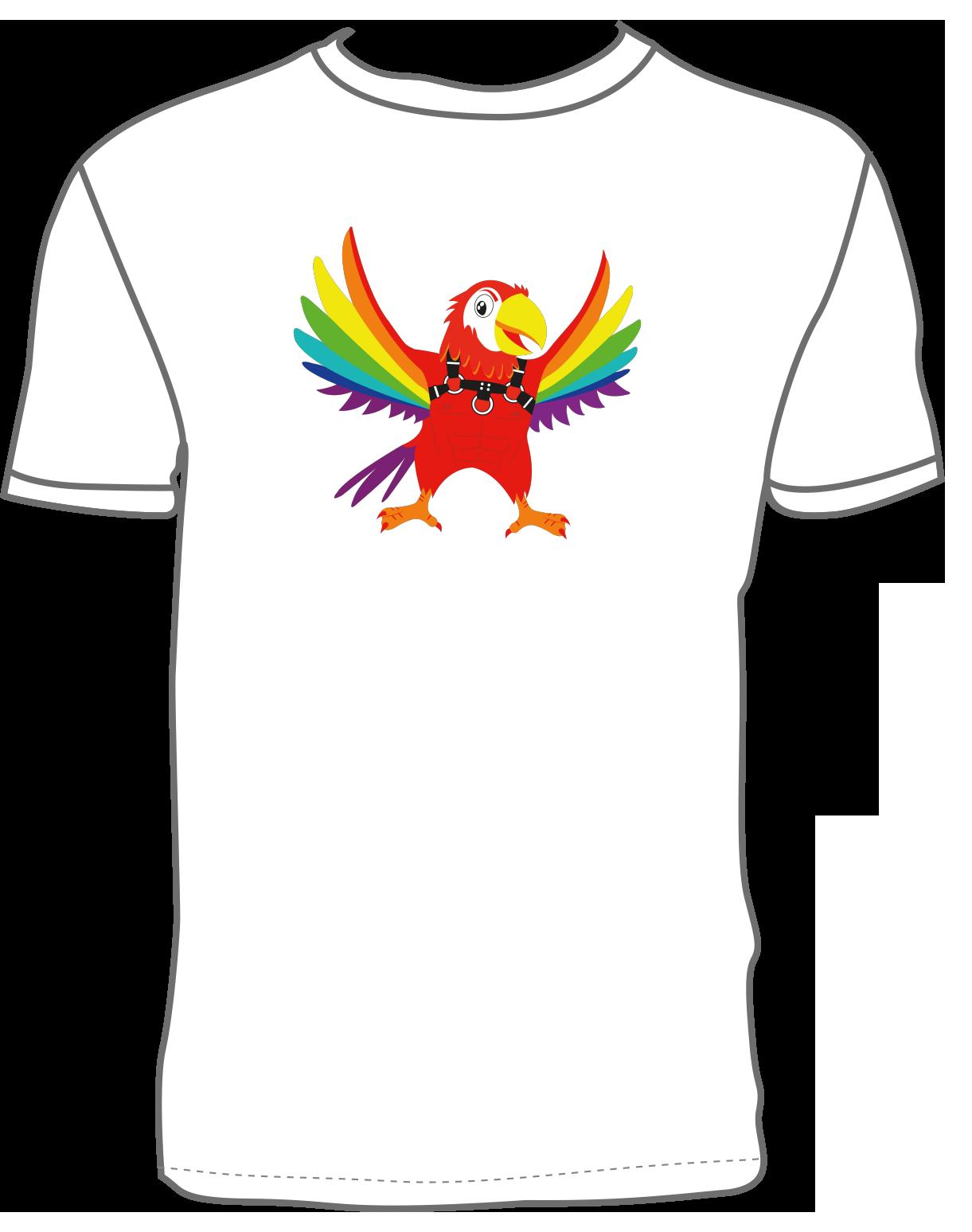 Coco Loco Coco Fetish T-shirt - White