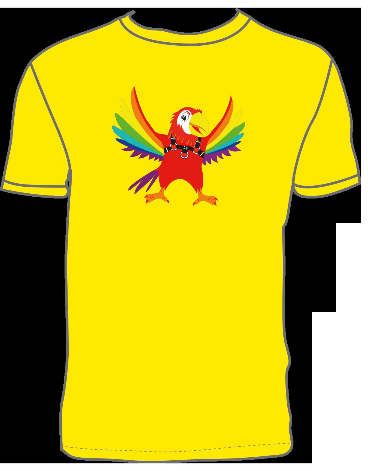 Coco Loco Coco Fetish T-shirt - Yellow