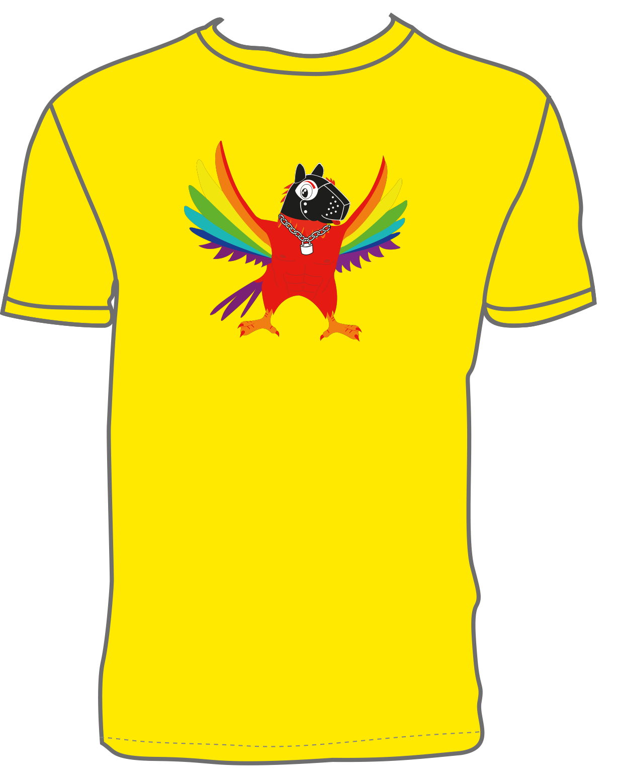 Coco Loco Coco Puppy - Yellow