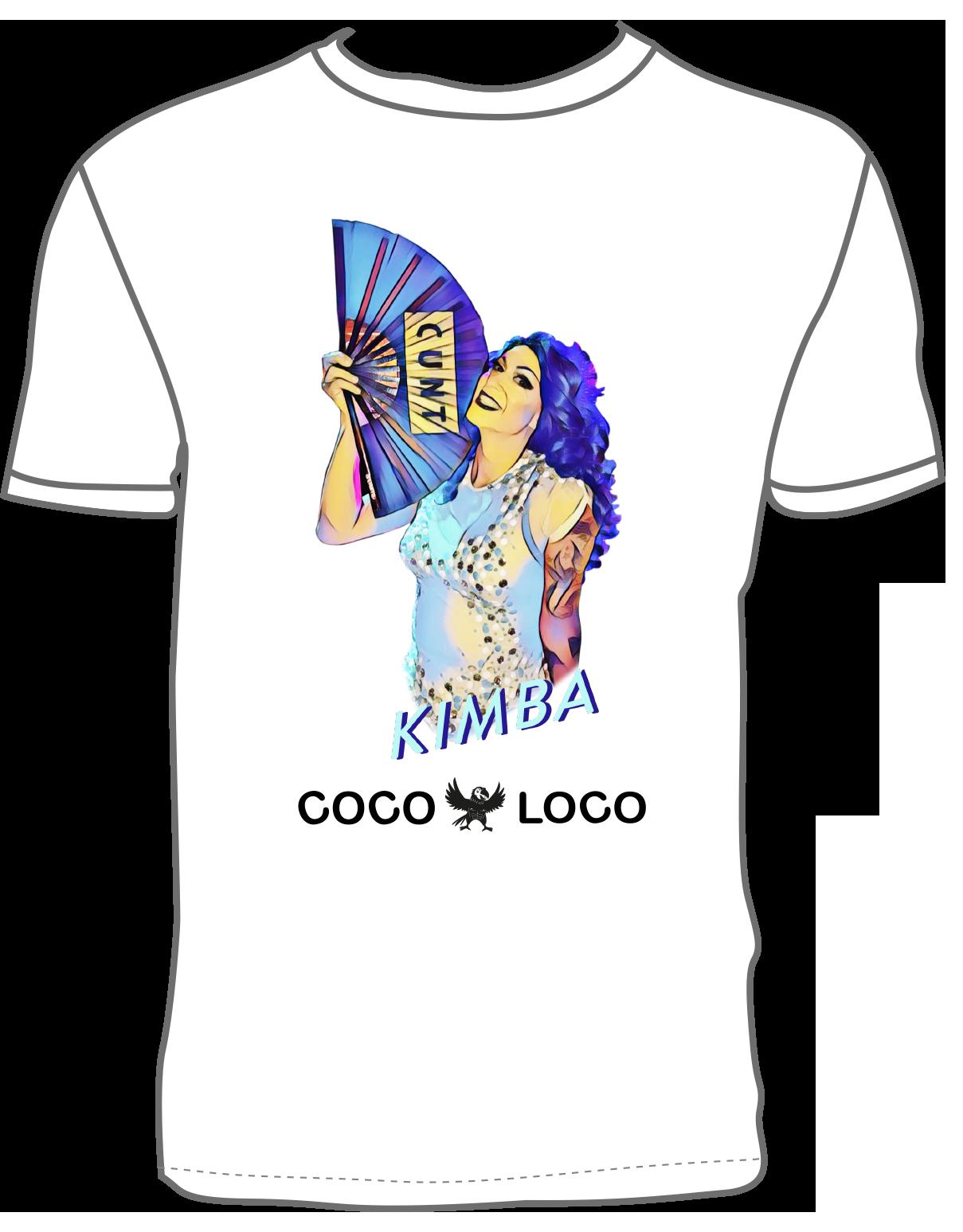 Coco Loco Kimba T-shirt - White